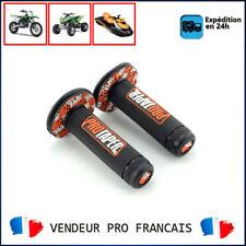 Paire de poignées ProTaper Noir & Orange Pour Moto Enduro Cross KTM 85 SX