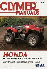 1997 2016 Honda TRX250 Recon Recon ES Repair Service Workshop Manual M4464  (Fits: 2005 Honda Recon 250)