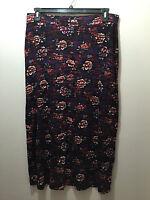 BNWT Womens Sz 20 Autograph Brand Soft Viscose Blend Elastic Waist Skirt RRP $60