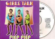 GIRLS TALK - piep piep CD SINGLE eurodance 1996 RARE!!