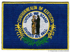 KENTUCKY STATE FLAG embroidered iron-on PATCH EMBLEM KY applique