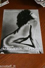 BH18=1972=MAGLIERIA ALPINA VAJRA GALLO=PUBBLICITA'=ADVERTISING=WERBUNG=