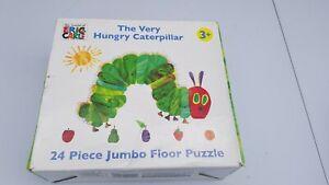The Very Hungry Caterpillar, 24 piece jumbo floor puzzle.