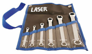 Laser Tools 5452 Torx Star Wrench Spanner Set In Tool Roll Case