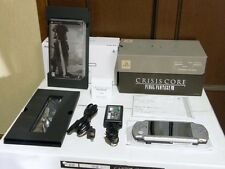 PSP 2000 Crisis Core Final Fantasy 7 Limited Silver Console rare japan rare F/S
