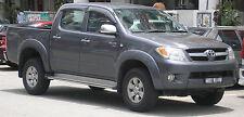 Autositzbezug maßgefertigt im EcoLeder Design TUNING für Toyota HILUX 5-Sitzer
