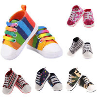 Infant Toddler Baby Boys Girls Soft Sole Crib Shoes Sneaker Newborn to 18 Months
