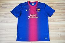 BARCELONA 2012/2013 HOME FOOTBALL SHIRT JERSEY MAGLIA NIKE ADULT SIZE L LARGE