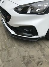 For 2018 Ford Focus MK4 ST Line Titanium Zetec Front Bumper Lip Splitter Carbon