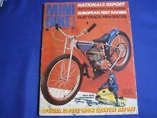 MINIBIKE GUIDE MAGAZINE-MARCH 1971-HONDA QA50-MINI BIKE NATIONALS-HONDA ATC