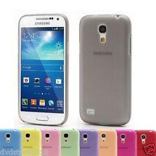 Pellicola + Custodia Cover ultra slim 0,3 mm per Samsung Galaxy I9190 S4 mini