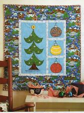Trim Up The Tree Quilt Pattern Pieced/Applique JM