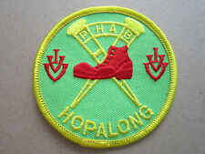 PHAB Hopalong Walking Hiking Cloth Patch Badge (L2K)