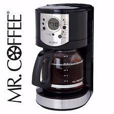 Mr. Coffee 12 Cup Coffee Digital Programmable Coffeemaker Machine Black  - NEW!