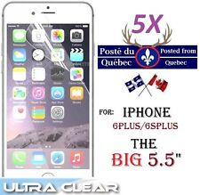 "5X Protecteur Ecran HD iphone 6 Plus 6SPlus 6Plus 5.5"" Clear Screen Protector x5"