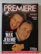 PREMIÈRE MAGAZINE (N°188) MAX & JEREMIE - NOIRET-LAMBERT - HARRISON FORD (CT280)