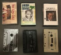Lot of 3 Nat King Cole Audio Cassette Tapes