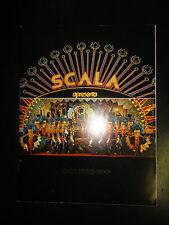 Program for Scala Nightclub Burlesque Show in Rio de Janeiro, Brazil 1984