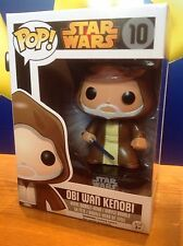 FUNKO POP! Star Wars OBI WAN KENOBI #10 Vinyl Figure BLACK BOX RETIRED/VAULTED