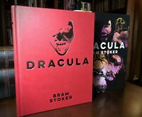 Dracula by Bram Stoker Horror Illustrated Hardcover Collectible Slipcase