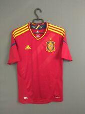 Spain Jersey 2012 2013 Home S Shirt Mens Camiseta Football Soccer Adidas ig93