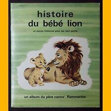 HISTOIRE DU BÉBÉ LION et autres histoires pour les tout petits Gerda 1977