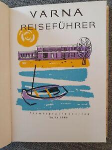 Varna Reiseführer Fremdsprachenverlag Sofia 1960 Rarität