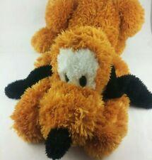 "37"" L 8"" H Official Walt Disney World Fluffy Pluto Plush Animal w/ Zipper Pouch"