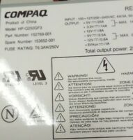 COMPAQ HP PSU 250W 152769-001 153652-001  REV F