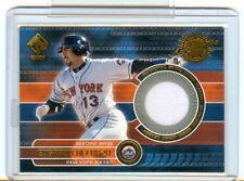 2001 Pacific Private Stock Edgardo Alfonzo Game Worn Jersey New York Mets