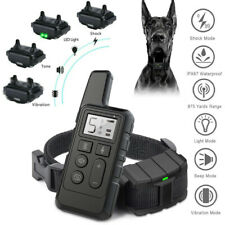 More details for pet dog training collar rechargeable waterproof electric shock lcd display 800m