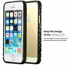 NEW 0.7MM Thinnest Aluminium Metal Bumper Frame Case Cover For iPhone 5 5G 5S