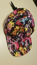 My Little Pony 🦄5 Panel Polyester Camp Hat  Adult One Size  Ball Cap MLP Brony