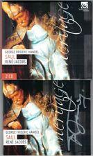 Rene JACOBS Signiert HANDEL: SAUL Rosemary Joshua Gidon Saks Lawrence Zazzo 2CD