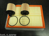 VAUXHALL COMBO (C) MK2 1.3CDTI SERVICE KIT OIL (X2) AND AIR FILTERS