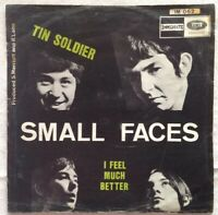 "SMALL FACES 7""-1967-Tin Soldier/I feel much better/ Immediate/EMI-IM 062-Belgien"