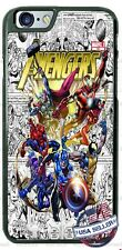 Avengers Characters Collage Phone Case for iPhone X 8 PLUS Samsung 9 Google etc.