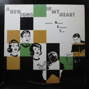 Minnesota N.E.T. - A New Song In My Heart VG+ LP private pressing 630 USA