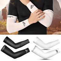 1 Pair Ice Cooling Arm Sleeves UV Sun Protection Cover Sports Golf For Men Wome