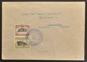 GUATEMALA to GERMANY 1921 Architecture on Finca Cover SAN-FANCISCO MIRAMAR to...