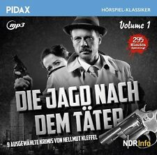 Die Jagd nach dem Täter Vol. 1 * CD 9 Krimigeschichten Hellmut Kleffel Pidax MP3