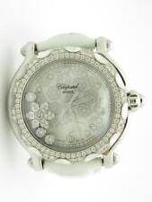 CHOPARD Happy Sport Ladies Stainless Steel Diamond Snowflake White Strap Watch