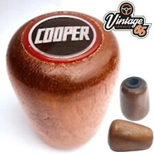 Mini Cooper Classic Car Universal Fitting Wooden Gear Stick Gear Lever Knob