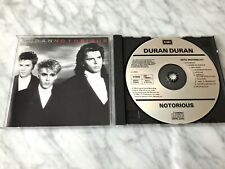 Duran Duran Notorious CD MADE IN WEST GERMANY FOR USA 1986 Capitol CDP 7 46415 2