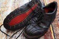 Vintage POLO Sport Ralph Lauren Low Leather Boots Shoes Black Men's Size 10.5