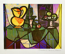 Pablo Picasso PITCHER & BOWL OF FRUIT Estate Signed & Numbered Small Giclee Art