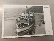 Postkarte Oberweser Fahrgastschiffahrt zwischen Hann.-Münden Hameln  ungel_