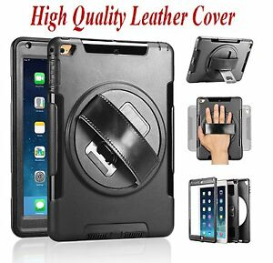 """Shockproof Heavy Duty Stand Hard Case Cover For iPad 2 3 4 Air 2 3 10.5"""" Mini 23"""