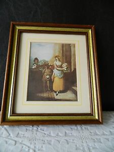 """Vintage framed """"Cries of London"""" print picture 2"""