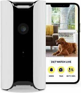 Canary Home Security Device - HD Camera, Siren & Air Monitor All In One White